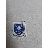 Марки Франция 1954