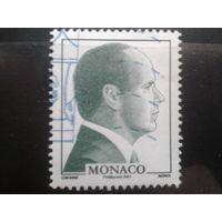 Монако 2007 князь Альберт 2 Михель-1,1 евро гаш