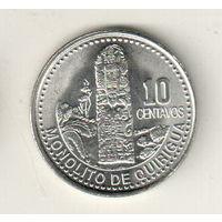 Гватемала 10 сентаво 2006