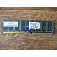 Оперативная память ПК 1gb ddr400 Elixir