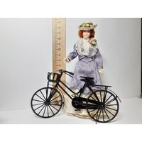Велосипед металл (кукольная миниатюра 1:12 Дом мечты)