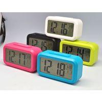 Часы настольные TD-1019 с подсветкой, Будильник, Температура
