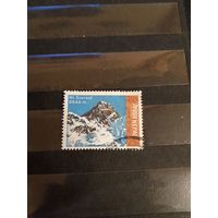 1971 старенькая марочка Непала горы (3-6)