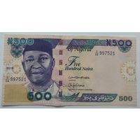 Нигерия 500 Найра 2016, A-UNC, 281