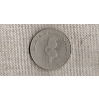 Тунис 1 динар 1988 /карта//(GB)/