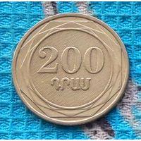 Армения 200 драм 2003 года. Инвестируй выгодно в монеты планеты!
