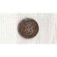 Болгария 2,5 стотинки 1888 /редкая/(Ji)