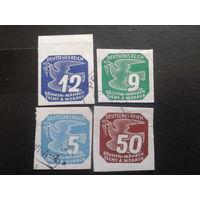Рейх протекторат 1943 газетные марки