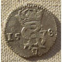 Двуденарий 1578