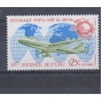 [687] Бенин 1983.Авиация.Самолет.