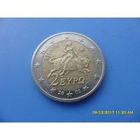 2 евро Греция 2002 год