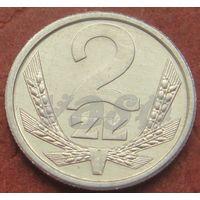 365**  2 злотых 1989 Польша