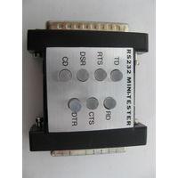 Мини-тестер соединений RS232(DB25)