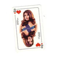 Джемма Артертон рекламная карта (карточка) фильма VA-БАНК. Возможен обмен