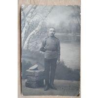 Фото военного. 1916 г. 9х14 см.
