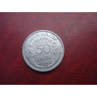 50 сантимов 1941 год Франция