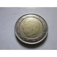 2 евро, Бельгия 2000 г.