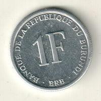 Бурунди 1 франк 2003