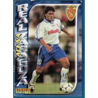 Карточка футбол Акунья (Acuna) Реал Сарагоса