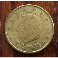 Бельгия, 50 евроцентов 1999