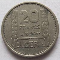 Алжир 20 франков 1956