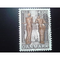 Дания 2002 скульптура