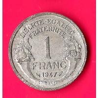 14-04 Франция, 1 франк 1947 г.