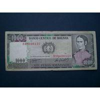 1000 песо 1982 г.