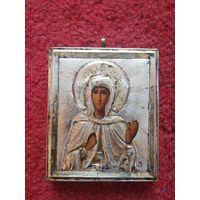 Икона Святая Великомученица Елисавета. Оклад серебро 84