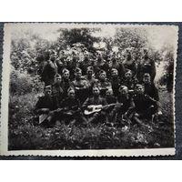 Солдатское фото на память. 1949 г. 8.5х11.5 см.