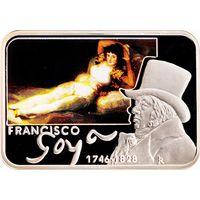 Ниуэ 1 доллар 2010 Художники мира Франсиско Гойя Серебро Proof