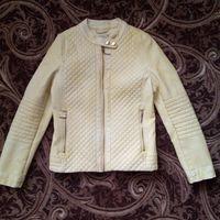 Куртка деми acoola кожанка р.146-152