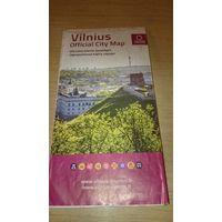 Официальная карта Вильнюса