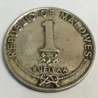 1 руфия 1990 г. Мальдивы