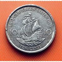 112-28 Восточные Карибы, 10 центов 1986 г.