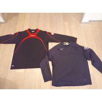 Спортивный тренировочный свитер, байка, реглан. Nike. Lotto.