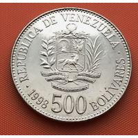 119-06 Венесуэла, 500 боливаров 1998 г.
