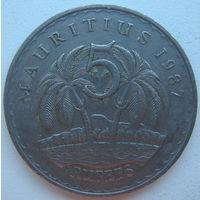 Маврикий 5 рупий 1987 г. (gl)