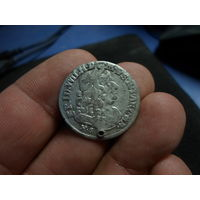 6 грошей Фридрих. Вильгельм 1 1684г. Пруссия
