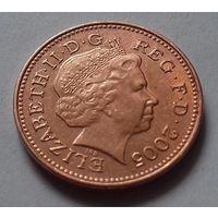 1 пенни, Великобритания 2005 г., AU