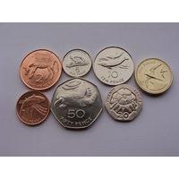 Остров Святой Елены. набор из 7 штук Монеты с 1991 по 2006 год +монета 5 пенс 1984 год в Подарок