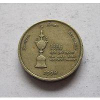 Шри-Ланка 5 рупий 1999 Чемпионат Мира по крикету
