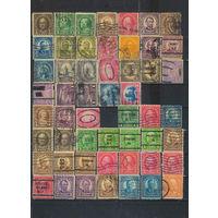 США 1922-34 Знаменитости Символы Стандарт A,C,F,FE,H,J (2 скана) #259-85,289