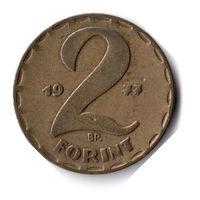 Венгрия. 2 форинта. 1977 г.