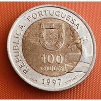 101-03 Португалия, 100 эскудо 1997 г. (Лиссабон ЭКСПО 1998)