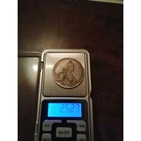 1 рубль Екатерины 1769г