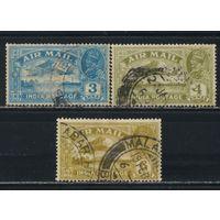 GB Индия 1929 GV Авиапочта