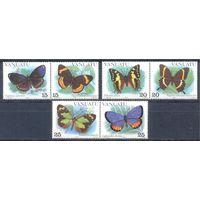 Вануату 1983 Фауна. Бабочки, 6 марок