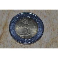Сан-Марино 500 лир 1995