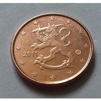1 евроцент, Финляндия 2011 г.